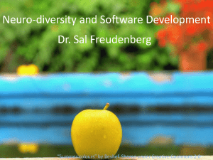 Neuro-diversity and Agile - Sallyann Freudenberg