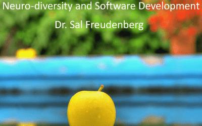 Neuro-diversity and Agile – Dr. Sal Freudenberg
