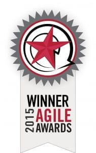 Winner 2015 Agile Awards