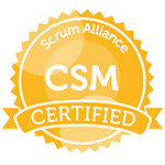 Scrum Alliance, Certified ScrumMaster (CSM) - Agil8