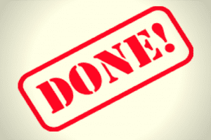 Blog: Agile - 100% Done