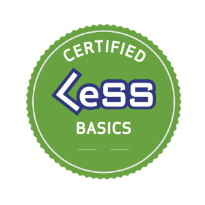 Certified LeSS (Large Scale Scrum) Basics